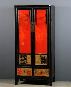 black-red-tall-painted-cabinet