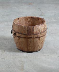 wooden-urn-round